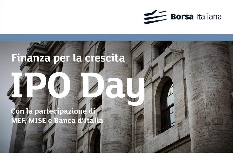 Finanza per la Crescita - IPO DAY