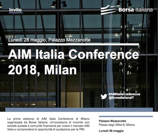 AIM Italia Conference 2018