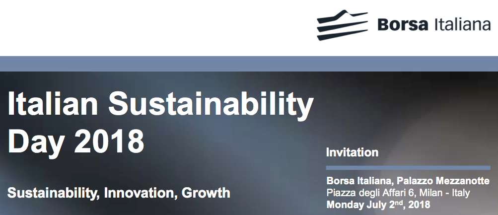 Italian Sustainability Day 2018